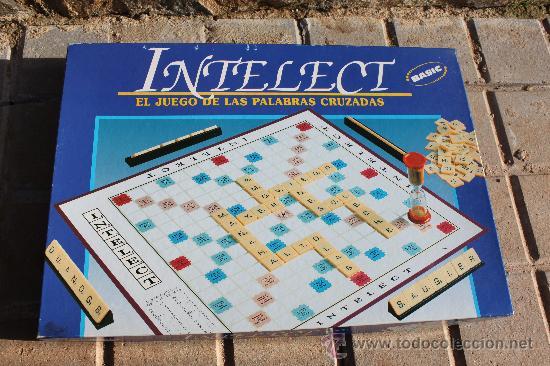 Juego De Palabras Cruzadas Intelect Comprar Juegos De Mesa