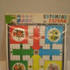 Juegos de mesa: ANTIGUO PARCHIS - OCA - ESTAMPAS DE ESPAÑA. Lote 29812406