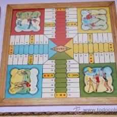 Juegos de mesa: PARCHÍS COVEFO - VALENCIA - ILUSTRACIONES DE DEPORTES - AÑOS 50. Lote 30034597