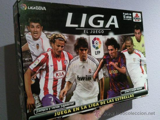 LIGA BBVA 2009-2010 EL JUEGO BORRAS (Juguetes - Juegos - Juegos de Mesa)