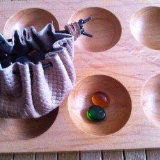 Juegos de mesa: JUEGO AFRICANO DE AWALE. Lote 56547227