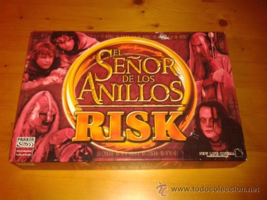EL SEÑOR DE LOS ANILLOS , RISK , PARKER , COMPLETO (Juguetes - Juegos - Juegos de Mesa)