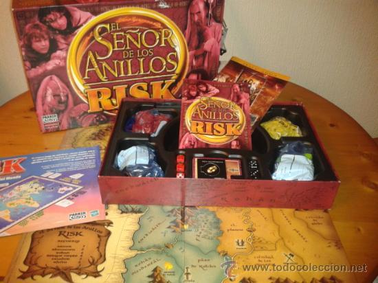 Juegos de mesa: EL SEÑOR DE LOS ANILLOS , RISK , PARKER , COMPLETO - Foto 2 - 95371500