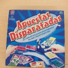 Jogos de mesa: APUESTAS DISPARATADAS.JUEGO DE MESA.HASBRO,AÑO 2001.NUEVO,EN CAJA.RESERVADO. Lote 30314737