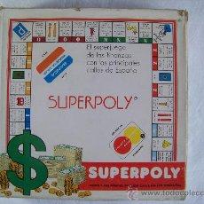 Juegos de mesa: SUPERPOLY JUEGO DE MESA FALOMIR. Lote 30442192