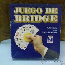Juegos de mesa: JUEGO DE BRIDGE DE JUEGOS FOURNIER (H.FOURNIER ). Lote 30371822