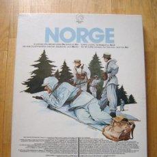 Juegos de mesa: JUEGO WARGAME NORGE - INTERNATIONAL TEAM (1981) - WWII - ESTRATEGIA. Lote 30540624