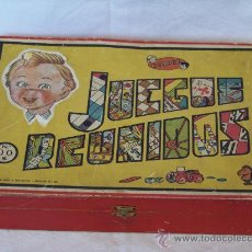 Juegos de mesa: JUEGOS REUNIDOS GEYPER NUM 00 INSTRUCCIONES CASI COMPLETO. RULETA CASINO. Lote 30734803