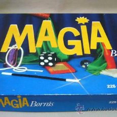 Juegos de mesa: MAGIA BORRAS, CAJA DE MAGIA, 225 TRUCOS. Lote 30731315