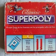 Juegos de mesa: JUEGO SUPERPOLY. Lote 30894670
