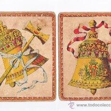 Juegos de mesa: 2 CARTONES ANTIGUOS DEL JUEGO EL CABALLO BLANCO,LITOGRAFIA. Lote 30759159