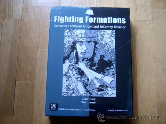 JUEGO WARGAME FIGHTING FORMATIONS - GMT 2011, SEGUNDA IMPRESIÓN - WWII - PRECINTADO (Juguetes - Juegos - Juegos de Mesa)