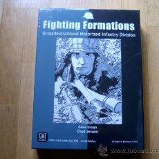 Juegos de mesa: JUEGO WARGAME FIGHTING FORMATIONS - GMT 2011, SEGUNDA IMPRESIÓN - WWII - PRECINTADO. Lote 30803952