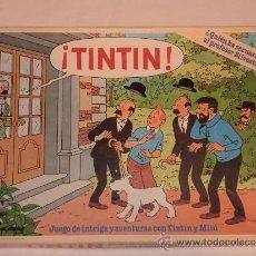 Juegos de mesa: JUEGO DE MESA TINTIN DE EDUCA. Lote 30966967