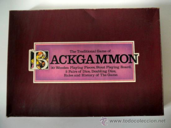 Juegos de mesa: JUEGO DE MESA * THE TRADITIONAL GAME OF BACKGAMMON * COMPLETO - Foto 2 - 31139058