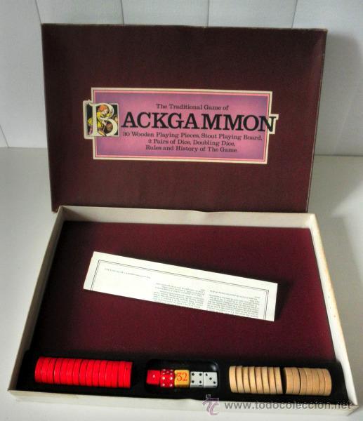 Juegos de mesa: JUEGO DE MESA * THE TRADITIONAL GAME OF BACKGAMMON * COMPLETO - Foto 3 - 31139058