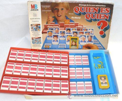 Quien Es Quien Mb Original Completo De Los 80 Comprar Juegos De