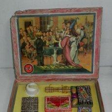 Juegos de mesa: JUEGO DE MAGIA Nº1 - JUGUETES BORRAS - CAJA ORIGINAL DE CARTON A FALTA DE DOS SOLAPAS DE LA TAPADERA. Lote 31330819