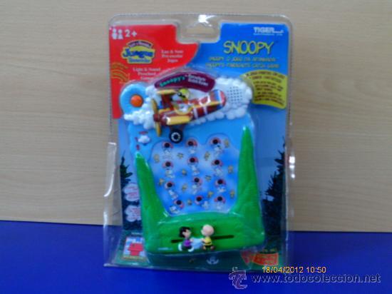 Snoopy Juego Electronico Luces Y Sonidos Tiger Comprar Juegos De