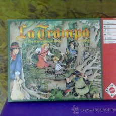 Juegos de mesa: JUEGO DE MESA LA TRAMPA DE MATTEL , 1989-VINTAGE. Lote 31373856