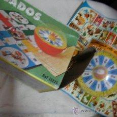 Juegos de mesa: ANTIGUO JUEGO DADOS CON JUEGO DE LA OCA. Lote 31518843