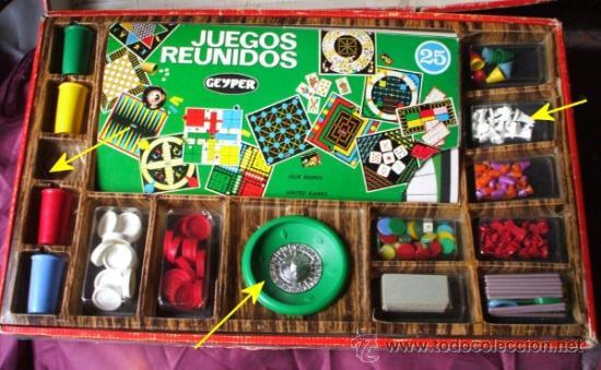 Juegos Reunidos Geyper 25 Comprar Juegos De Mesa Antiguos En