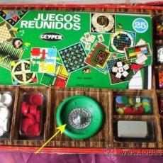 Juegos de mesa: JUEGOS REUNIDOS GEYPER 25. Lote 31604727