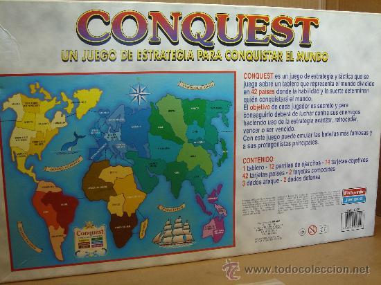 Juego De Mesa Conquest Falomir Ref 1355 Ti Comprar Juegos De