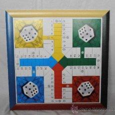 Juegos de mesa: PARCHIS GRANDE TABLERO MARCO COLORES. Lote 45901433