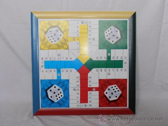 Juegos de mesa: PARCHIS GRANDE TABLERO MARCO COLORES - Foto 2 - 45901433