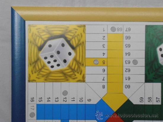 Juegos de mesa: PARCHIS GRANDE TABLERO MARCO COLORES - Foto 4 - 45901433