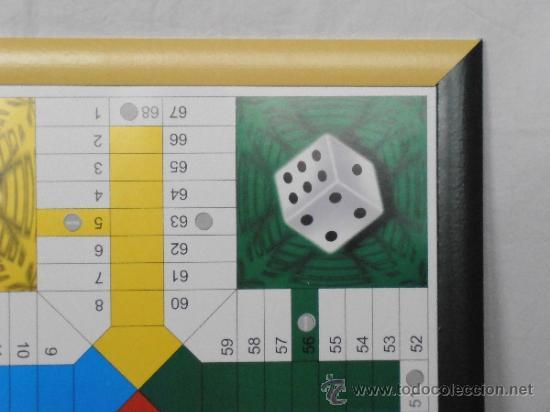 Juegos de mesa: PARCHIS GRANDE TABLERO MARCO COLORES - Foto 5 - 45901433