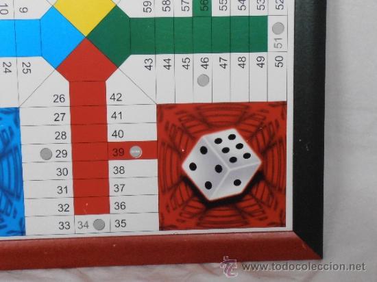 Juegos de mesa: PARCHIS GRANDE TABLERO MARCO COLORES - Foto 6 - 45901433