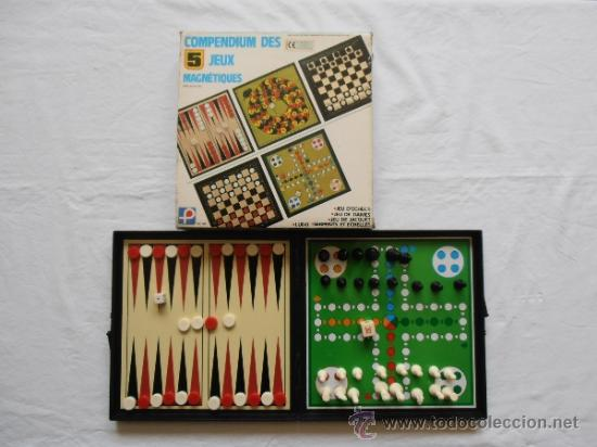 5 Juegos Magneticos Made In Hong Kong Buy Old Board Games At Todocoleccion 31699852