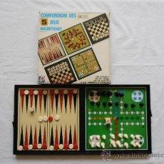 Juegos de mesa: 5 JUEGOS MAGNETICOS MADE IN HONG KONG. Lote 31699852