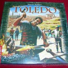 Juegos de mesa: TOLEDO JUEGO DE MESA DEVIR DE MARTIN WALLACE EDICION ESPAÑOLA AÑO 2008 PRECINTADO DESCATALOGADO. Lote 68634514