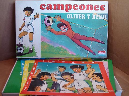 JUEGO DE MESA - OLIVER Y BENJI CAMPEONES - FALOMIR 1990 REF: 8600 (Juguetes - Juegos - Juegos de Mesa)