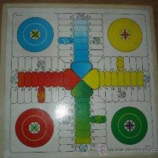 Juegos de mesa: EL PARCHIS POR UNA CARA Y LA OCA POR LA OTRA - 33 X 33 CMS.. Lote 31912645