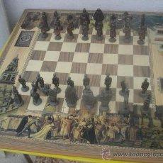 Juegos de mesa: I- AJEDREZ COLECCIONABLE DE FIGURAS DE CRISTIANOS Y ARABES. Lote 32014716