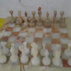Juegos de mesa: W- AJEDREZ ALABASTRO. Lote 32015830