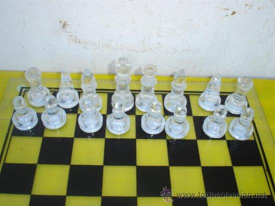 Juegos de mesa: B-B juego de ajedrez cristal - Foto 2 - 32079399