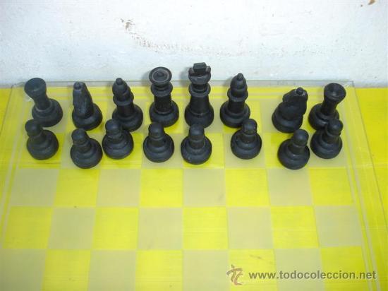 Juegos de mesa: juego de ajedrez de cristal - Foto 2 - 32079432