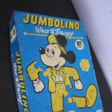 Juegos de mesa: JUMBOLINO DISET AÑO 1980 VINTAGE. Lote 32096952