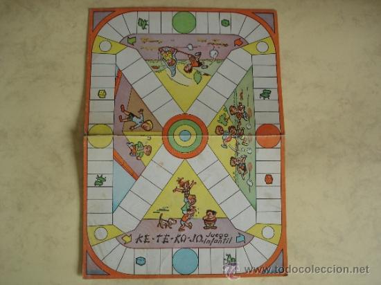 Ke Te Ko Jo Juegos Reunidos Geyper Tablero Comprar Juegos De