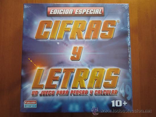 Juego De Mesa Cifras Y Letras 1993 De Falomir Comprar Juegos De