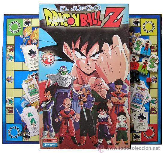El Juego De Mesa De Dragon Ball Z De Falomir Comprar Juegos De