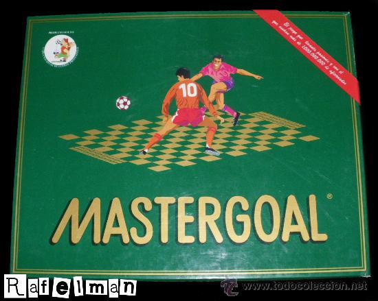 JUEGO DE MESA SOBRE FUTBOL - MASTERGOAL - INCOMPLETO - LIQUIDACIÓN (Juguetes - Juegos - Juegos de Mesa)