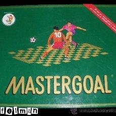 Juegos de mesa: JUEGO DE MESA SOBRE FUTBOL - MASTERGOAL - INCOMPLETO - LIQUIDACIÓN. Lote 32421296