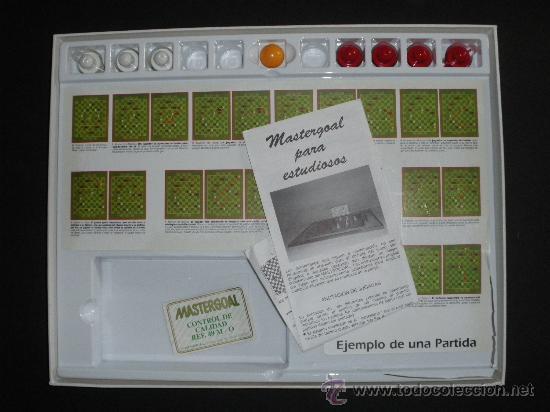 Juegos de mesa: JUEGO DE MESA SOBRE FUTBOL - MASTERGOAL - INCOMPLETO - LIQUIDACIÓN - Foto 2 - 32421296