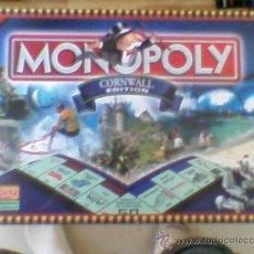 Juegos de mesa: MONOPOLY CORNWALL EDITION LIMITED EDITION EN INGLÉS PRECINTADO !!!!! DE TIENDA. Lote 32506966
